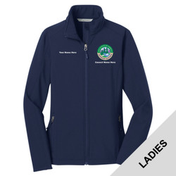 L317 - N120E008 - EMB - Ladies Soft Shell Jacket