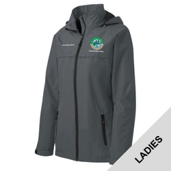 L333 - N120E008 - EMB - Ladies Waterproof Jacket