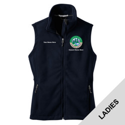 L219 - N120E008 - EMB - Ladies Fleece Vest