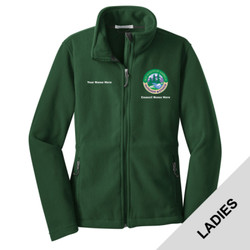 L217 - N120E008 - EMB - Ladies Fleece Jacket