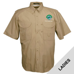 FSLSS - N120E008 - EMB - Ladies Field Shirt